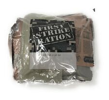 NEW! US Army FIRST STRIKE RATION/ 24 Hour MRE INSP/TEST DATE 02/2020 (MRE X3)