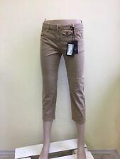 Prada women's capri jeans brown IT42 NWT
