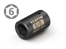 TEKTON 47753 1/2-Inch Drive by 5/8-Inch Shallow Impact Socket, Cr-V, 6-Point