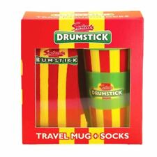 Swizzels Drumstick Travel Mug and Socks Gift Set - Boxed Retro Sweets