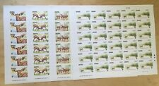 SPECIAL LOT WWF Ghana 1984 927-30 - Bongo - 4 Sheets of 30 - IMPERF
