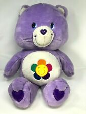 "Jumbo Large Care Bears Harmony Bear Plush 2003 28"" Euc"
