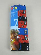 Rio Boys 7 Pack Soft Breathable Cotton Briefs Underwear Sizes 4-6 6-8 4 - 6