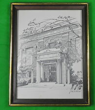 "Pencil Print "" Art Gallery "" by PAUL N. NORTON Framed"