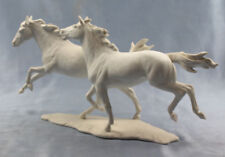 Pferd pferde  figur porzellan porzellanfigur pferdefigur Kaiser 1980 galopp w