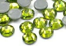 Hotfix Rhinestones Heat Transfer Iron On Light Peridot 3mm 10 gross 1440pcs