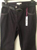 Per Una Roma Purple Jeans Size 12 Bnwt Was £29.50