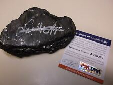 Loretta Lynn signed piece of coal 1/1 PSA/DNA  # AC90269