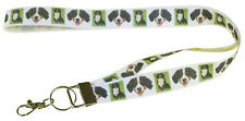 More details for bernese mountain dog breed of dog lanyard key card holder perfect gift