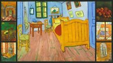 Van Gogh Digitally Printed Pre-cut Fabric Panel AVG-16595-205 Robert Kaufman