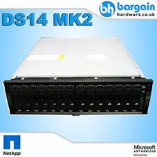 NetApp DS14 MK2 Disk Shelf Storage Array 3U 14x 73GB SATA Seagate HDD 1x PSU
