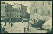 Ancona Cupramontana PIEGHINA cartolina QQ1277