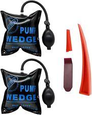 Air Wedge Pump Bag Leveling Kit & Alignment Tool Inflatable Shim Auto Repair 2