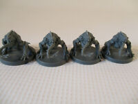 DEEP MADNESS Lot of 4 AGONY Alternate Pose Cthulhu Mythos Miniature Figures!!