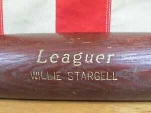 Vintage Hillerich & Bradsby Wood 'Leaguer' Baseball Bat HOF Willie Stargell 34""