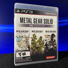 Metal Gear Solid HD Collection (PlayStation 3, PS3) CIB, Complete & Tested!