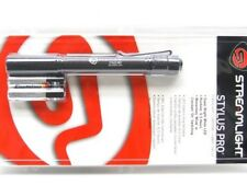 Streamlight Black Stylus Pro White 90 Lumen LED Flashlight Light w/ Clip 66118
