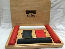 Marlboro Poker Chip set with 2 card decks Sealed chips and cards New