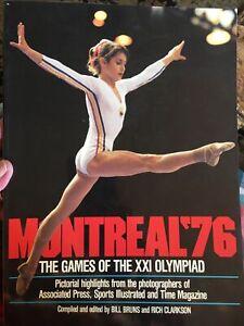 Montreal 1976 Olympics Commemorative Magazine with Nadia Comaneci & Bruce Jenner