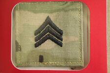 Us Army Gi Multicam Ocp E-5 Sgt Hook Back Camouflage Camo Uniform Rank Patch *