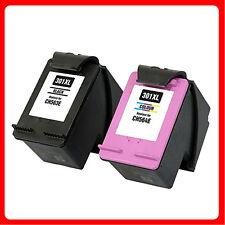 2 NON-OEM Ink Cartridge For HP Deskjet 301XL Deskjet 1000 1050 1510 1050a