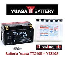 "Batteria YUASA TTZ10S 12V 9Ah = YTZ10S ""MF"" per Kymco People 200i S dal 2007"