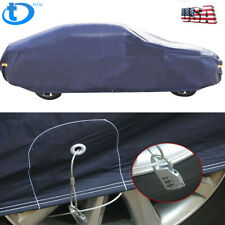 Full Car Cover Waterproof Rain Snow Heat UV Dust Resistant Outdoor & Indoor A5