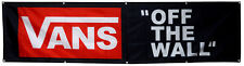 vans off the wall flag 2x8ft banner US Shipper