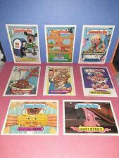 GPK OS12 NrMt 8 Card Lot Pack Fresh Garbage Pail Kids Series 12