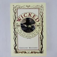 Wicked by Gregory Maguire 1995 1st Edition Hardcover with Dust Jacket
