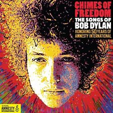 CHIMES OF FREEDOM: SONGS OF BOB DYLAN 4 CD JOHNNY CASH ADELE MARK KNOPFLER UVM N