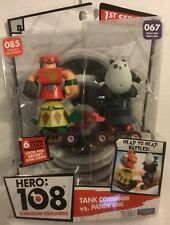 Hero 108 Tank Commander Vs Panda King Figures Kingdom Krashers New & Sealed wit