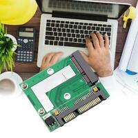 Mini mSATA SSD to 2.5'' SATA Drive Adapter Converter Module Ahy 2020 Card L7J0