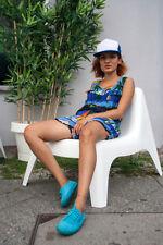 Damenmode Overall 90er Palmen True Vintage woman fashion overall palmtrees beach
