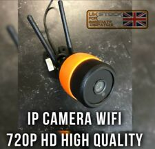 Outdoor/Indoor WiFi 720p HD IP Network CCTV TELECAMERA SICUREZZA IR Twin Antenna SD