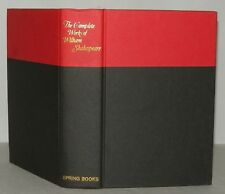 The Complete Work Of William Shakespeare, 1971, HB, 14th Imp, Plays & Poems