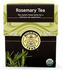 Rosemary Tea by Buddha Teas, 18 tea bag 1 pack