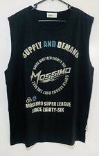 New listing Mossimo Mens Tank Singlet Size XL Extra Large Black Graphic Print Surf Wear