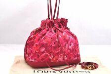 Authentic Louis Vuitton Monogram Ikat Flower Noe Full M94313 Pink LV 95996