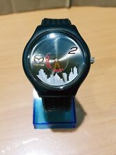 Vintage Collectible Mazda2 Zoom Watch Tyre Racing Pattern Band Limited Edition