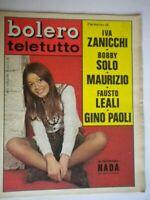 Bolero 1138 Nada Fausto Leali Gino Paoli Bobby Solo Arcieri Zanicchi Antoine