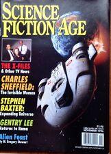 Science Fiction Age November 1996 Vol 5 # 1 X-Files Sheffield Baxter Lee Stewart