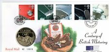 GB QEII PNC 1996 CENTURY OF BRITISH MOTORING COVER AND COIN/MEDAL ROYAL MINT