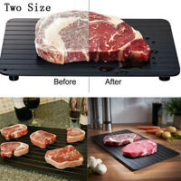 Fast Defrosting Tray The Safest Way to Defrost Meat Quickly Thaw Frozen Food