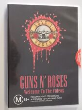 Guns N Roses Welcome To The Videos DVD Music