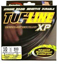 BRAID TUF-LINE XP 10lb yellow 300yards Spectra advanced multifilament line USA