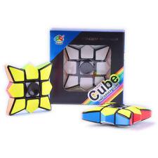 Rubik Magic Cube Fidget Spinner Hand Spinner EDC Focus ADHD Autism Finger Toy