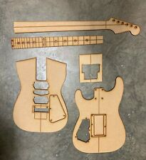 Super Strat 24 Guitar Building Templates w/Original Floyd Rose Routing