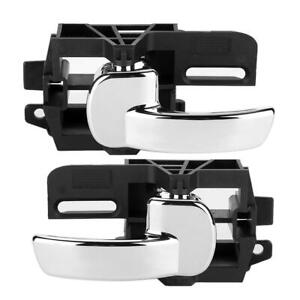 2Pcs Left&Right Inner Door Handles 80670-JD00E For Nissan Qashqai Mk1/J10/JJ10