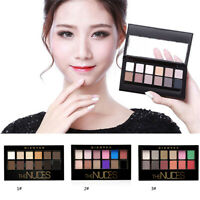 12Color Cosmetic Matte Eyeshadow Cream Eye Shadow Makeup Palette Shimmer Set